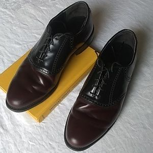 Dexter leather soled oxfords, 11M